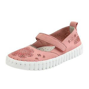 Kids Girls Flat Shoes Dress Shoes Slip On Ballerina Loafers Shoes Size Pink US