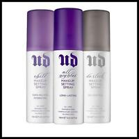 Urban Decay UD Makeup Setting Spray 4oz De-Slick All-Nighter Chill YOU CHOOSE