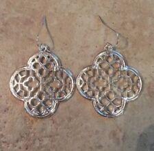 Dangle Earrings by Isabel Scott Silver Drop Earring Kendra + Chloe