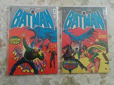 Batman Williams nuova serie n° 1 e 3