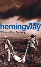 NEW Winner Take Nothing By Ernest Hemingway Paperback Free Shipping