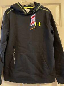 NWT Under Armour Allseason Gear Hooded Sweatshirt Size YLG LG