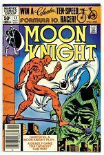 MOON KNIGHT #13(11/81)1:BATTLE OF DAREDEVIL vs MOON KNIGHT(NEWSSTAND)CGC IT(F/VF
