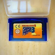 Super Mario Bros 3 Brothers 4 Nintendo Gameboy SP GBA Game Boy Advance Platform