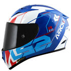SUZUKI GSX-R Blanco Azul 2018 NUEVO Casco de moto LS2 ARROW Techno FF323