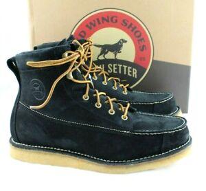 "New IRISH SETTER 3826 Hunt Bar Size 12 EE Black 7"" Men's Work Boots MSRP $239"