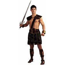 Gladiator Costume Adult Roman or Greek Warrior Halloween Fancy Dress