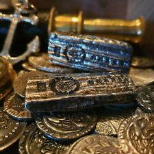 More details for hand poured .999 fine shipwreck silver bar 15/30 mmxxi