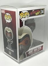 Funko Pop! Ant-man The Wasp Marvel Janet Van Dyne #344 + Pop! Protector