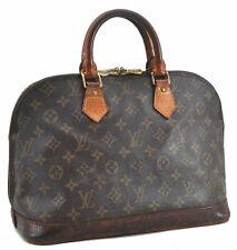 Authentic Louis Vuitton Monogram ALMA HAND BAG m51130 LV c5059