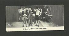 Charlie Chaplin City Lights Boxing Scene 1930s Swedish Magno Chocolates Card