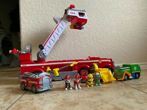 Paw Patrol Ultimate Rescue Marshall , Rocky  FIRE TRUCK Big Truck Light & Sounds