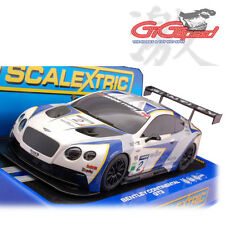 NEW SCALEXTRIC 1:32 BENTLEY CONTINENTAL GT3 GBR No.2 SLOT CAR C3515 DPR