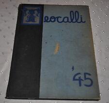 1945 TEOCALLI MARK KEPPEL HIGH SCHOOL ALHAMBRA CALIFORNIA YEARBOOK ORIGINAL