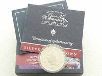 2000 Royal Mint Queen Mother Centenary £5 Five Pound Silver Proof Coin Box Coa