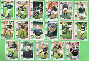 #D557.  1991  SCOTLAND  RUGBY UNION WORLD CUP CARDS