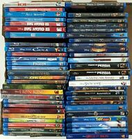 Disney Live Action/Animated Blu-ray Movies - Buy One or More Only 2.99 Shipping