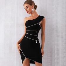 Vestido de Verano Vestido de Noche vestidos Celebridad Fiesta para Mujer elastizado Sexy Prendas para club nocturno