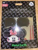 Disney Parks Minnie Mouse Ear Hat Metal Earth 3D Model Kits Walt World - NEW