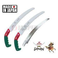 2x Samurai ICHIBAN GC-330-LH 33cm Curved Hand Saw + Carrying Case + Extra Blade