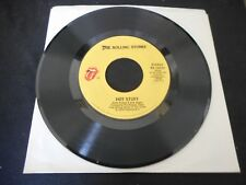 """The Rolling Stones - Fool To Cry / Hot Stuff 7""""  RS-19304 Vinyl 45"""