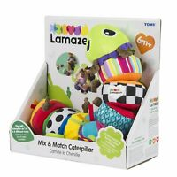LC27244 Lamaze Mix & Match Caterpillar Toy 8 pcs Baby Babies Infant Age 0 Month+