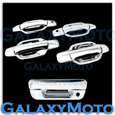 05-12 Chevy Colorado Triple Chrome 4 Door+PSG Keyhole+Tailgate Handle Cover