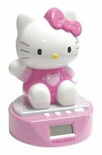 HELLO KITTY - 3D Musical Digital Alarm Clock Money Box - LCD Display
