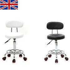 Barstool Faux Leather Bar Stools Breakfast Kitchen Chair Chrome Swivel Bar Stool