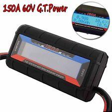 G.T.Power 150A RC Watt Meter & Power Analyzer Digital LCD Tester 12v 24v 36v U