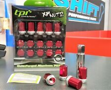 tpi XR Racing Nuts - Red - M12x1.5