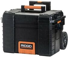 RIDGID 22 in. Pro Gear Cart Black Tools Storage Rolling Wheel Cart Portable New
