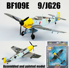 WWII German BF109E 9 JG26 1940 aircraft 1/72 non die cast plane Easy model