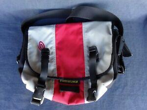 Timbuk2 Gray/Red/Black Messenger Bag - Size Small