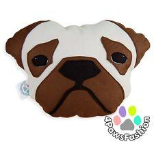 Frank the Pug Pillow Custom Plush Dog Portrait Breed Handmade Home Decor