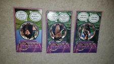 LOT OF 3 VINTAGE XENA WARRIOR PRINCESS LUCY LAWLESS MAGNET SET