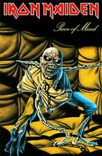 More details for official licensed - iron maiden - piece of mind textile poster flag metal