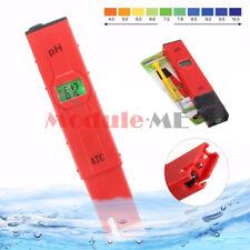 Electric Digital Ph Meter Tester Hydroponics Pen Aquarium Pool Water PH Test