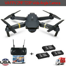 Drone X Pro Foldable Quadcopter WIFI FPV with 720 HD Camera 3 Batteries US s2