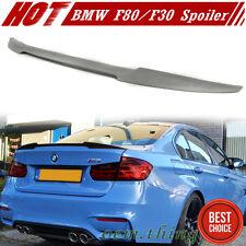 Unpaint BMW F30 F80 M3 Sedan 3-Series V Style Trunk Spoiler Wing 2016 320i 328i