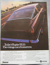 Sunbeam Rapier H120 Original advert No.1