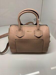 Furla 984378 B BTE3 HSF Leather Alba Small Satchel Bag Moonstone Pink  $378