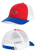 VINEYARD VINES High Profile Curved Brim Tracker Hat OSFA NWT