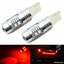 JDM ASTAR T15 Wedge Red 921 912 W5W 2835 LED Signal Brake Tail Marker Light Bulb