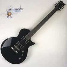 ESP LTD EC-10 LP Shaped Electric Guitar In Black - HH Pickups - Metal Guitarist