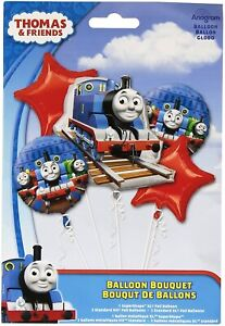 Amscan Thomas and Friends Foil Balloons bouquet