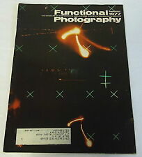 September 1977 FUNCTIONAL PHOTOGRAPHY Magazine