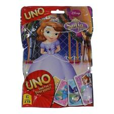 DISNEY SOFIA THE FIRST UNO CARD GAMES IN FOIL BAG 2-10 PLAYERS 112 CUSTOM CARDS