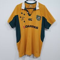 Australia Wallabies Rugby Union Canterbury Jersey Authentic Team Replica Size L