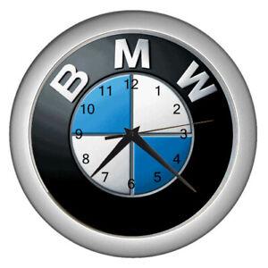 Hot Brand Logo BMW Car and Motorcycle Wall clock